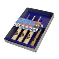 Набор для резьбы по дереву в картонной коробке, 4 шт. KIRSCHEN 3424 SB