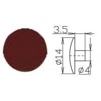 Заглушка под шестигранник №8 шоколад 1000 шт