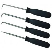 Набор крючков для металлообработки, 4 шт.