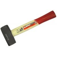 Кувалда 1500 г деревянная ручка ЕРМАК