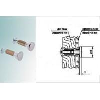 Держатель для крепления стекла к ДСП 8.01 (01) Хром D=12 мм Россия