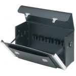 ЧЕМОДАН ИЗ КОЖИ для инструмента KNIPEX, размер 250х160х420 мм, цвет черный KN-002102LE (на заказ)