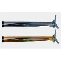 Нога для стола хром УСЫ 710 x 60 мм