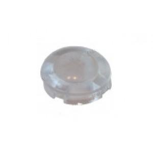 Заглушка круглая, прозрачная