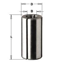 Втулка зажимная для фрезера d=6 мм D=12 мм Макита 763801-4