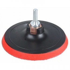 Насадка для дрели и УШМ - тарелка опорная с липучкой VELCRO D=115 мм