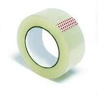 Скотч упаковочный прозрачный нагрузка до 10кг 66м 40мкр