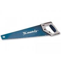 Ножовка по дереву MATRIX 500 мм 3-гранн. зуб, тефл. покрытие, 7 зубьев на дюйм
