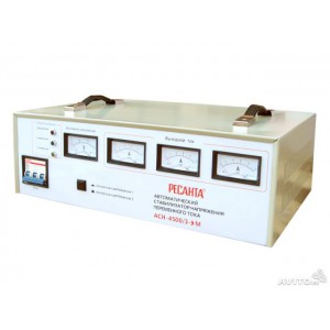 Стабилизатор  трехфазный АСН-  4 500/3 Ресанта
