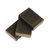 Губка для шлифования 100 x 70 x 25 мм  Р 100 средней жесткости (1шт)
