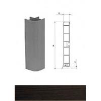 Профиль соединительный внутренний для цоколя 90°дуб венге L-100 мм