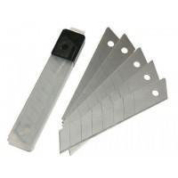 Лезвия для ножа 25 мм (5 шт) 7 сегментов, сталь У8 Кобальт