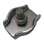 Соединитель троса одинарный цинк 6 мм