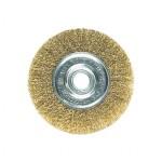 Щетка для УШМ - плоская латунная D=100 мм