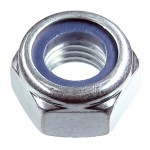 Гайка со стопорным кольцом М24 оцинкованная DIN 985