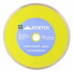 Диск алмазный отрезной сплошной 180 х 22,2 мм, мокрый рез VERTEX 04-180-5