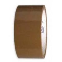 Скотч упаковочный коричневый нагрузка до 20кг 66м 45мкр