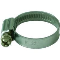 Хомут винтовой 120-140 мм  ширина 10 мм. оцинкованный DIN 3017