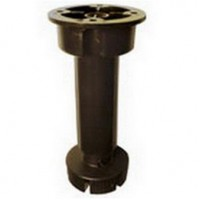 Опора регулируемая кухонная 145-175 мм черная кухонная