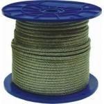 Трос для растяжки в оплетке 6/8 мм DIN 3055