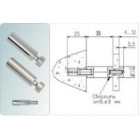 Держатель дистанционный 5.32 (04) Матовый никель D=16 мм; L=35 мм Россия