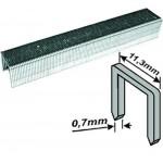 Скобы для степлера каленые тип 53, 0,7 x 12 мм