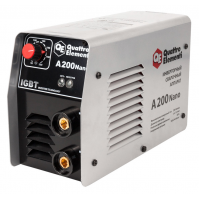 Сварочный аппарат инверторный QUATTRO ELEMENTI A 200 Nano (200 А,  ПВ 60%, до 5.0 мм, 4,2 кг, 165-270 В)
