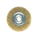 Щетка для УШМ - плоская латунная D=125 мм