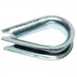 Коуш для стальных канатов 11 x 12 мм DIN 6899