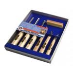 Набор для резьбы по дереву в картонной коробке, 6 шт. KIRSCHEN 3406 SB (на заказ)