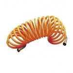 Шланг спиральный воздушный для компрессора 10 м