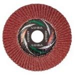Диск лепестковый торцевой 125 х 22,2, Р60 (14А) ЛУГА