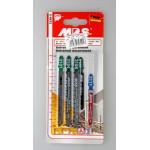 Пилки для электролобзика MPS 3198-5 набор 5 шт. по дереву и металлу