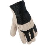 Перчатки спилковые с сеткой FIRM GRIP
