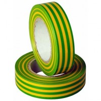 Изолента 19/20 ISOFLEX 150 мкм желто-зеленая F1924