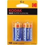 Батарейка LR14/343 2 шт. Kodak Max в блистере
