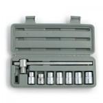 Набор головок торцевых 10-19 мм, 8 предметов ЕРМАК