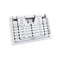 Мебельный шаблон для разметки отверстий под ручки ARVANT РШ-160 - 96, 128 мм и кнопки (аналог Черон МШ-0.5)