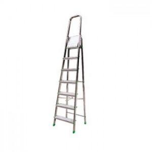 Лестница-стремянка стальная оцинкованная 5 ступ. 1,75 м АЛЮМЕТ 8305