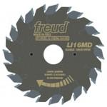 Пила подрезная составная FREUD LI16M НА3 80 x 2,8-3,6 x 20 мм Z 12+12