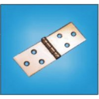 Петля карточная 128 х 40 мм без покрытия (150 шт.)