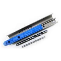 Мебельный кондуктор МК-07 для отверстий в алюминиевых ручках дверей-купе