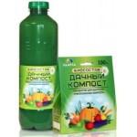 Биосостав для переработки раст. отходов 100 г Дачный Компост