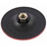 Насадка для УШМ - тарелка опорная с липучкой VELCRO D=100 мм