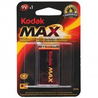 Батарейка 6LR61/6F22 Kodak Max 9 В (крона)