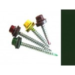 Саморезы кровельные Хром зеленый RAL 6020 с удл. сверлом, 4,8 х 19 мм (300 шт.)